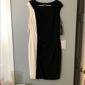 NWT super flattering black dress